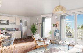 Programme immobilier CRA5 appartement à Aix-Les-Bains (73100) Environnement calme et vert