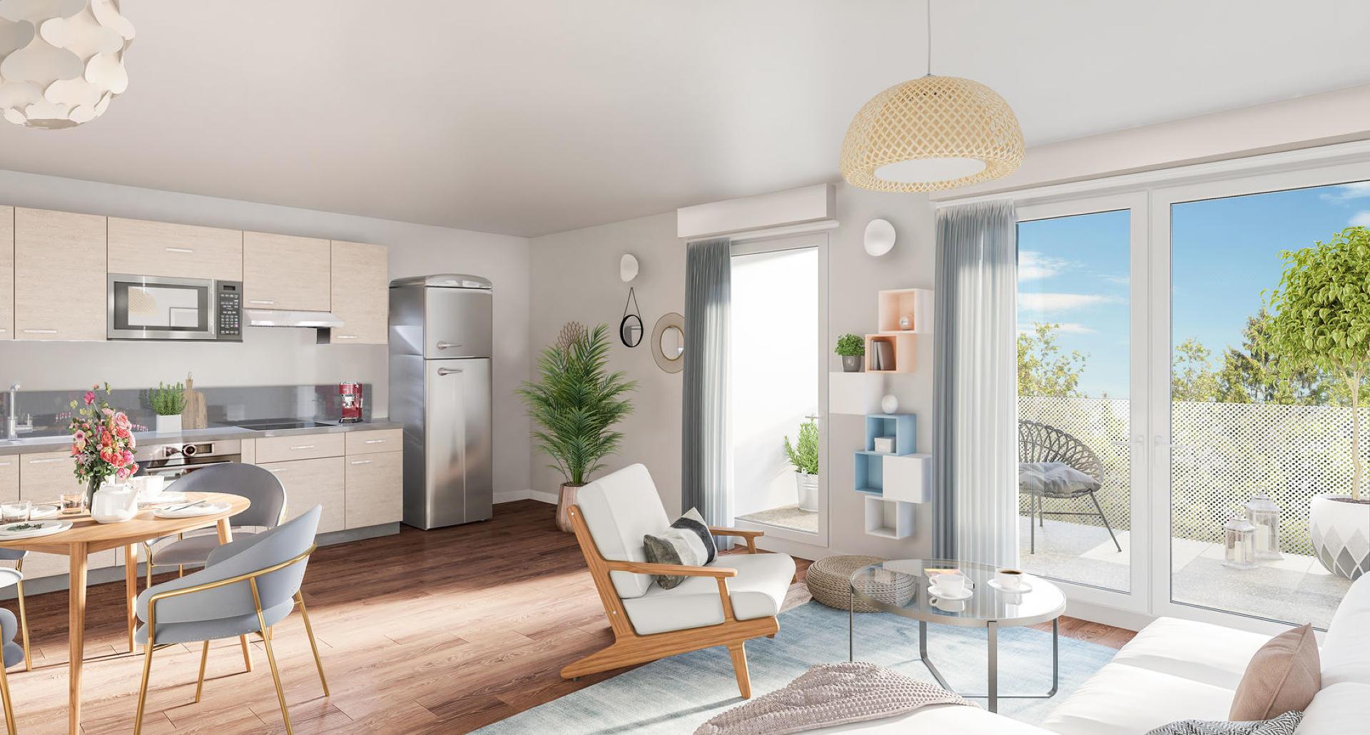 Programme immobilier Aix-Les-Bains (73100) Environnement calme et vert OGI24