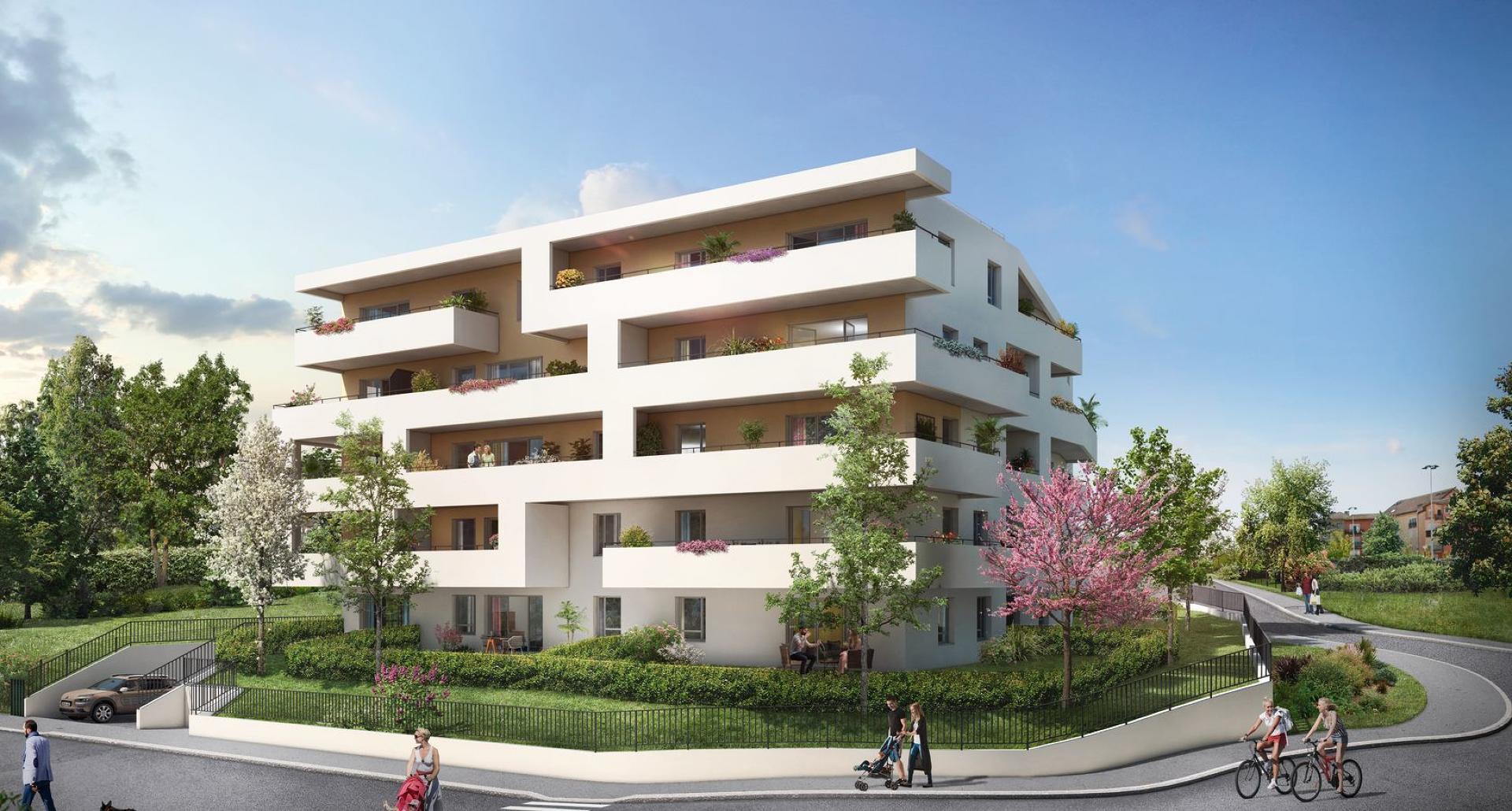 Programme immobilier Annemasse (74100) Idéalement située dans un quartier calme PI10