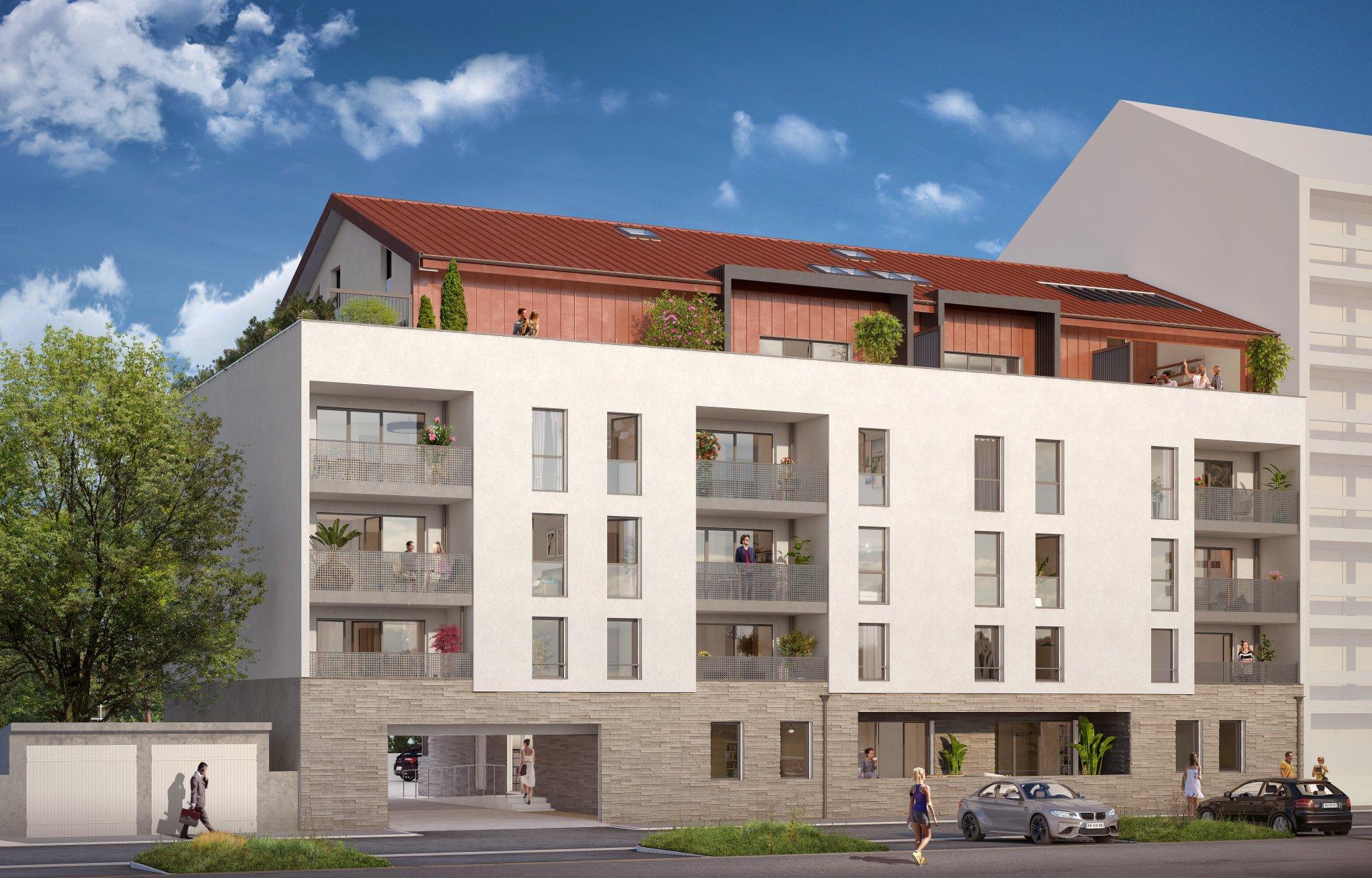 Programme immobilier Bonneville (74130) En plein centre-ville de Bonneville CRA9