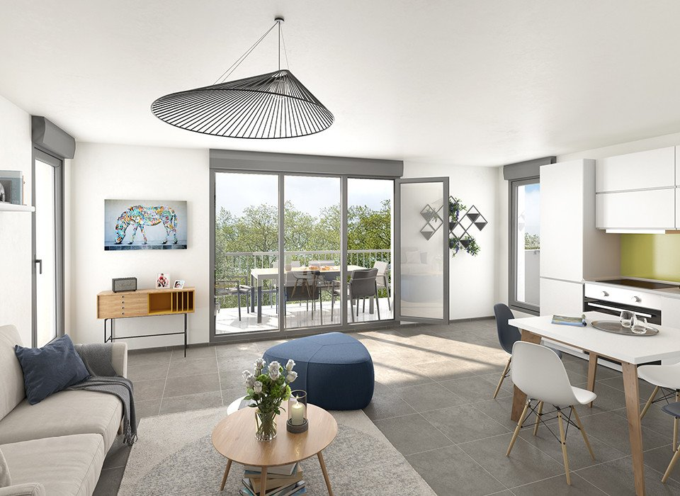 Programme immobilier VIN8 appartement à Irigny (69540) Face au sublime Château de la Combe