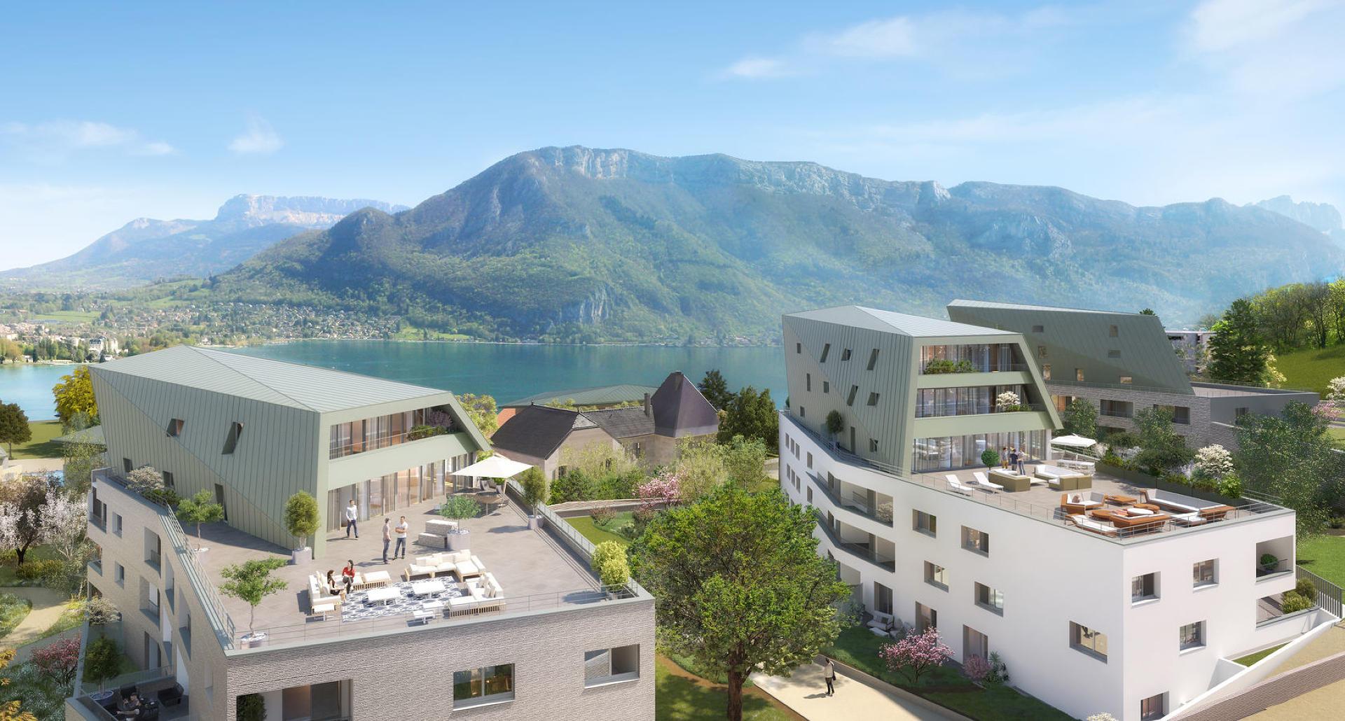Programme immobilier Annecy (74940) Au bord du lac d'Annecy VAL53