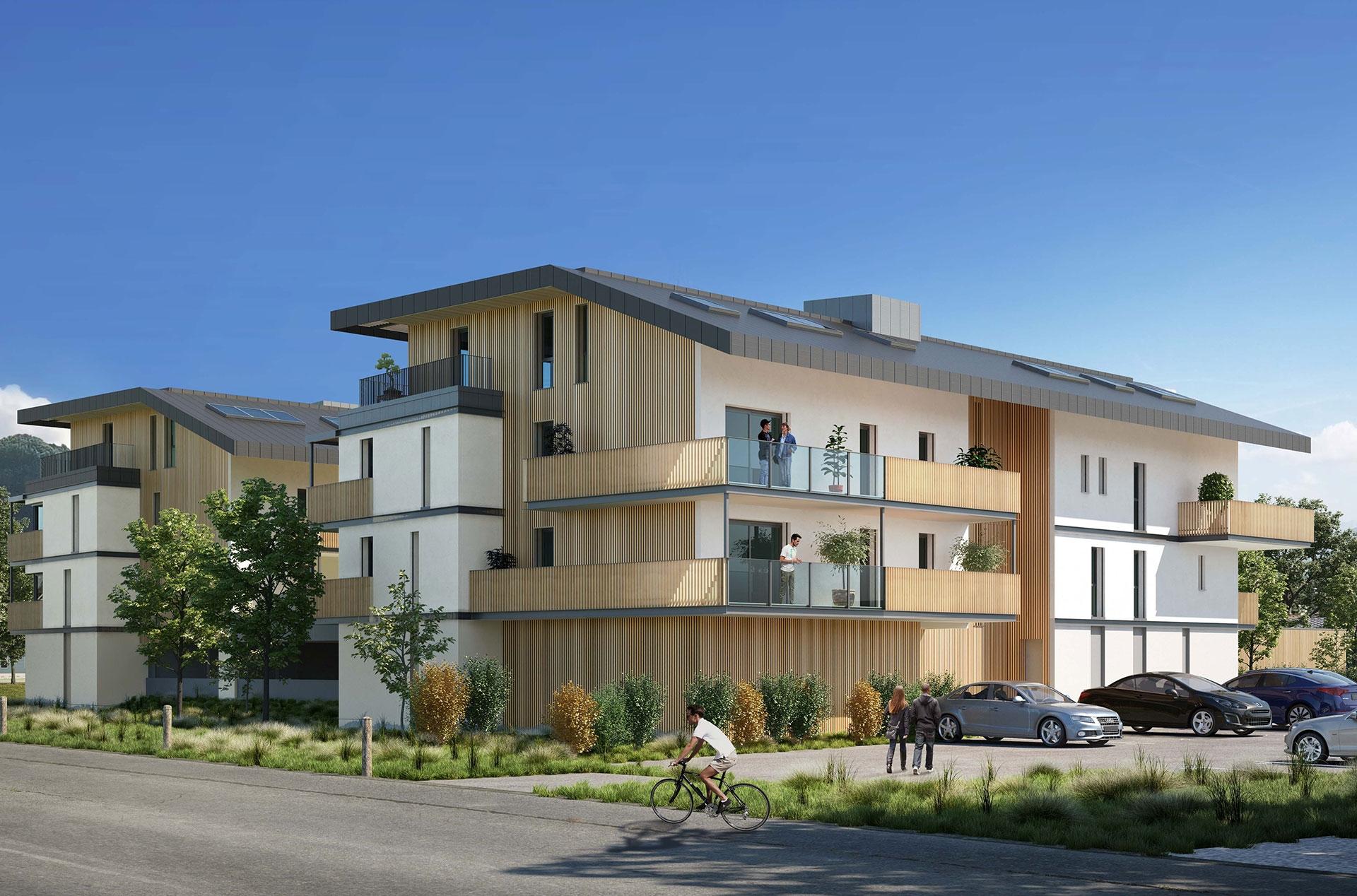 Programme immobilier Sallanches (74700) À deux pas de l'hyper centre VIN18