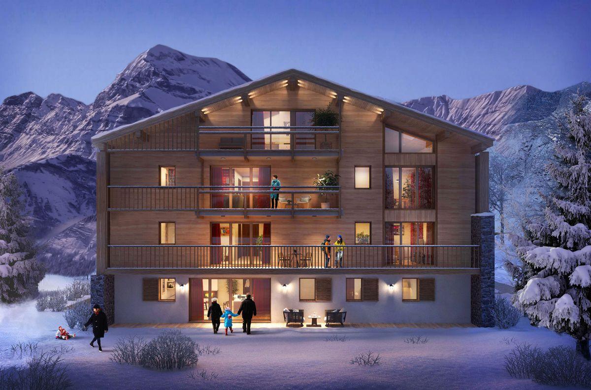 Programme immobilier EUR15 appartement à Megève (74120) Emplacement idéal
