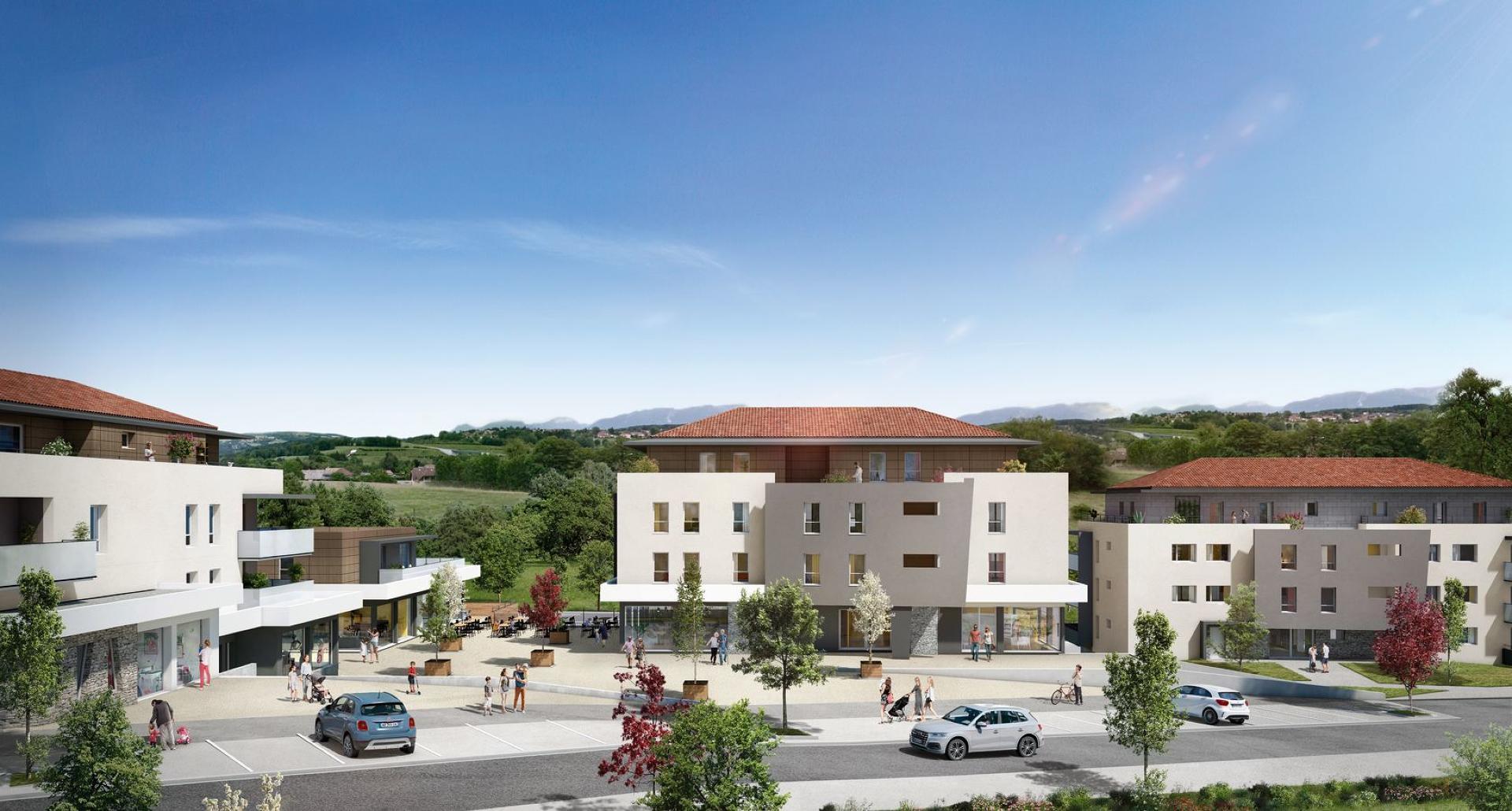 Programme immobilier CRA10 appartement à Allonzier-La-Caille (74350) Un futur lieu de vie prisé
