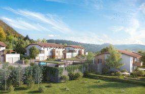 Programme immobilier EUR8 appartement à Collonges (01550) Située dans le Pays de Gex