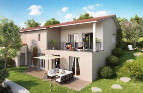 Programme immobilier EUR13 appartement à Vaugneray(69670) Proximité des commerces et écoles