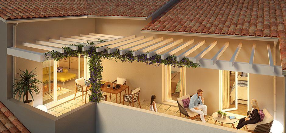 Programme immobilier Toulon (83000) Quartier résidentiel d'avenir ICA14