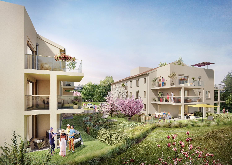 Programme immobilier NOA8 appartement à Charbonnière les bains(69260)