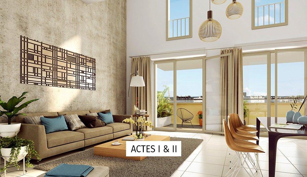 Programme immobilier Aix-En-Provence (13100) À 650m des Allées Provençales LNC12