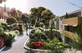 Programme immobilier VIN14 appartement à Peynier (13790) Environnement résidentiel propice au bien-être