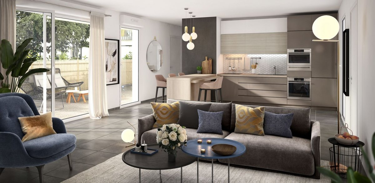 Programme immobilier OGI21 appartement à Bron (69500) Au Coeur du Centre-Ville