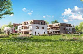 Programme immobilier EUR6 appartement à Ornex (01210) Résidence intimiste et sécurisée