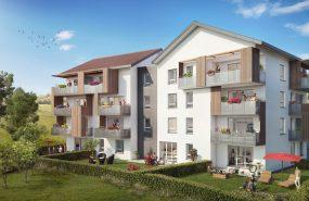 Programme immobilier EDO14 appartement à Thorens-Glières (74570) Résidence nichée dans un havre de paix