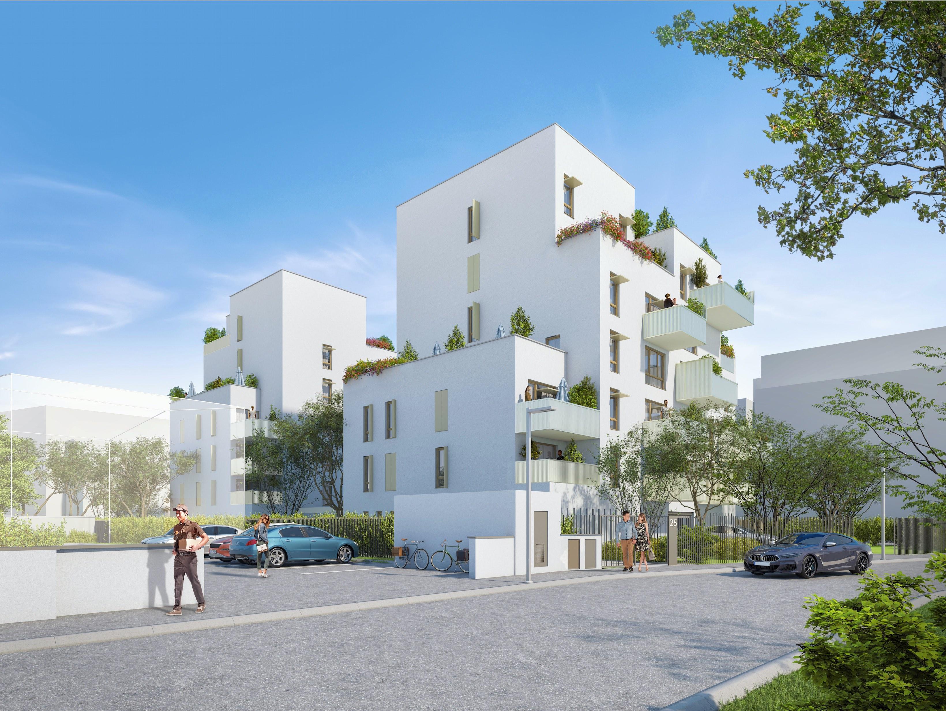 Programme immobilier Villeurbanne (69100) Quartier Saint Jean CAP11