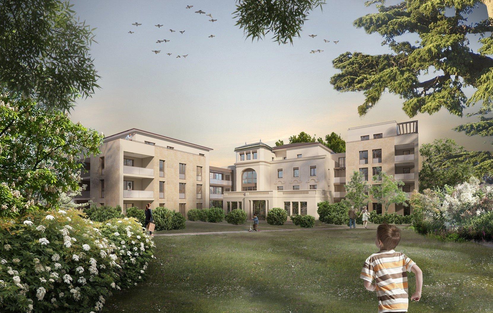 Programme immobilier EDO13 appartement à Caluire (69300) Au cœur d'un écrin de verdure