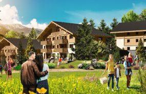 Programme immobilier EQ10 appartement à Megève (74120) UN LIEU RARE NICHÉ AU COEUR DU MONT BLANC
