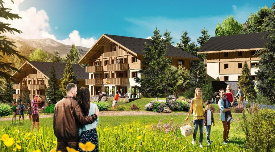 Programme immobilier Megève (74120) UN LIEU RARE NICHÉ AU COEUR DU MONT BLANC EUR15