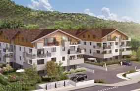 Programme immobilier CRA11 appartement à Publier (74500) Idéalement située à 150 m du Lac Léman