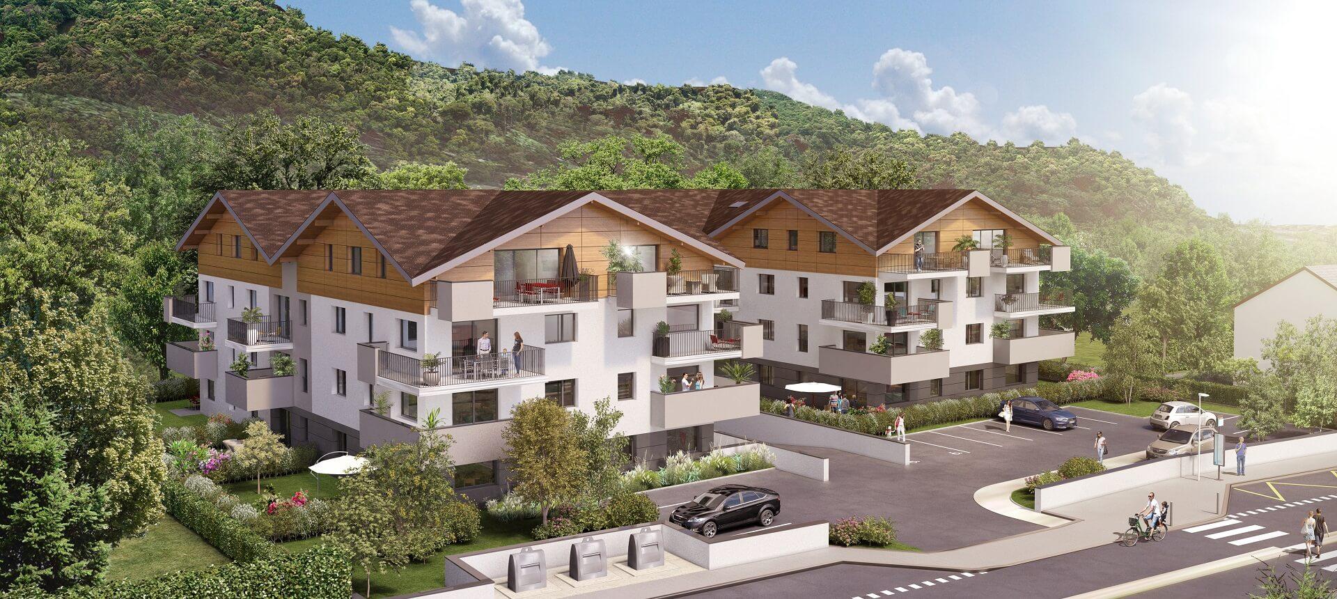 Programme immobilier Publier (74500) Entre le Lac Léman et le massif du Chablais CRA11