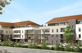 Programme immobilier EDE8 appartement à Vetraz Monthoux (74100) CENTRE VILLE