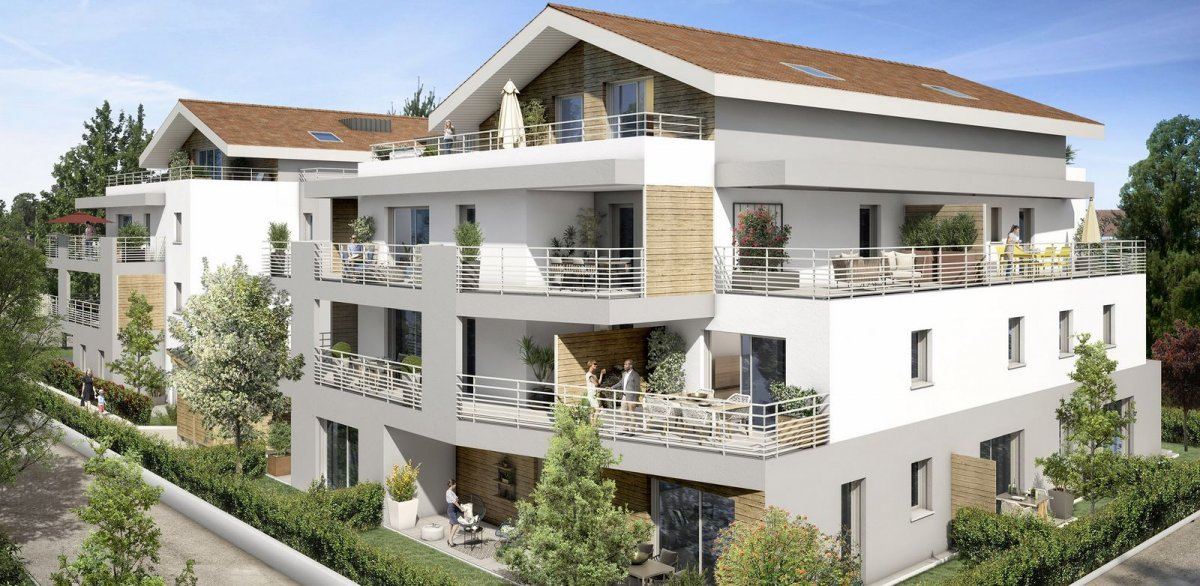 Programme immobilier OGI23 appartement à Prevessin Moens (01280) Prestations haut de gamme
