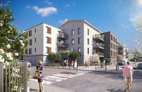 Programme immobilier EDO15 appartement à Vaulx-en-Velin (69120) Au cœur d'un quartier résidentiel
