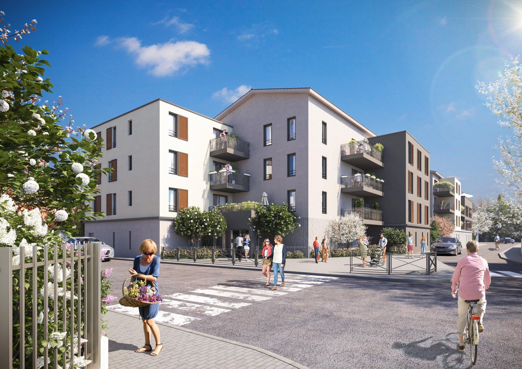 Programme immobilier Vaulx-en-Velin (69120) Au cœur d'un quartier résidentiel NP15