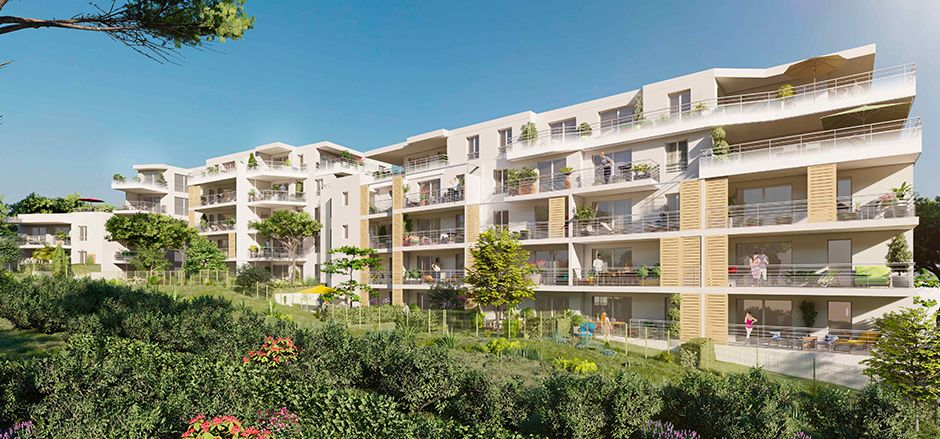 Programme immobilier Cavalaire Sur Mer (83240) Une résidence haut de gamme EDO8