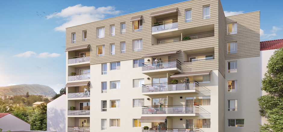 Programme immobilier Annemasse (74100) Situation d'exception dans le centre-ville d'Annemasse VAL55