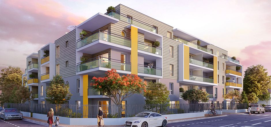 Programme immobilier Annemasse (74100) Un quartier tourné vers l'avenir CRA8