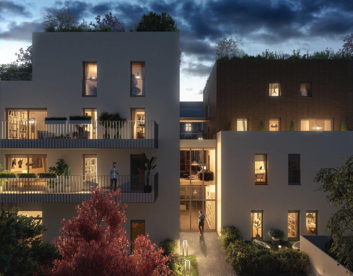 Programme immobilier OGI25 appartement à Lyon 3ème (69003) COEUR MONTCHAT