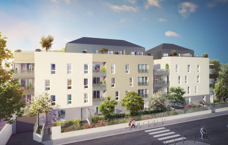 Programme immobilier Villeurbanne (69100) Proche Campus Universitaire VIN3