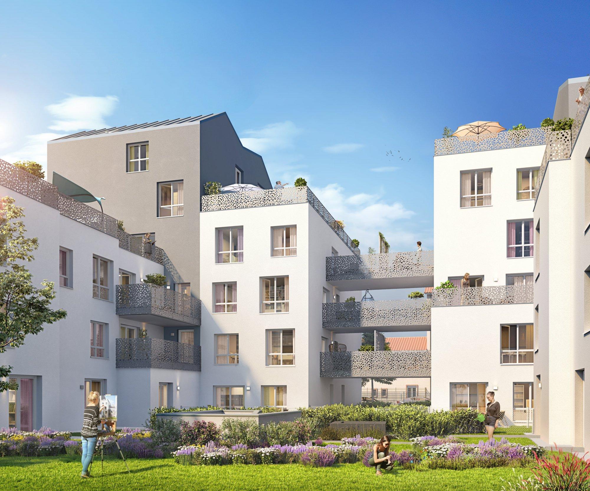 Programme immobilier Villeurbanne (69100) Résidence de standing ICA8