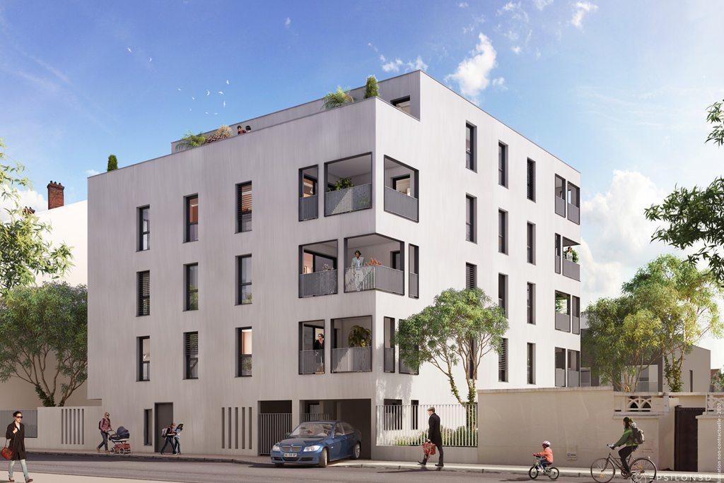 Programme immobilier Lyon 3ème (69003) PROCHE COMMERCES MONCHAT ALT4