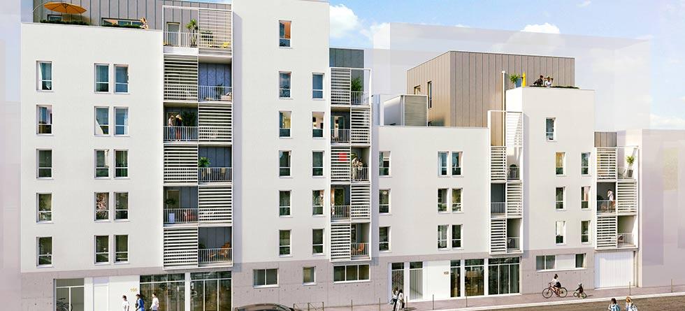 Programme immobilier Lyon 3ème (69003)  ALT4