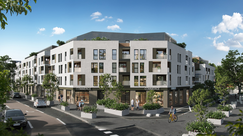 Programme immobilier Brignais (69530) COEUR DE VILLE ICA7