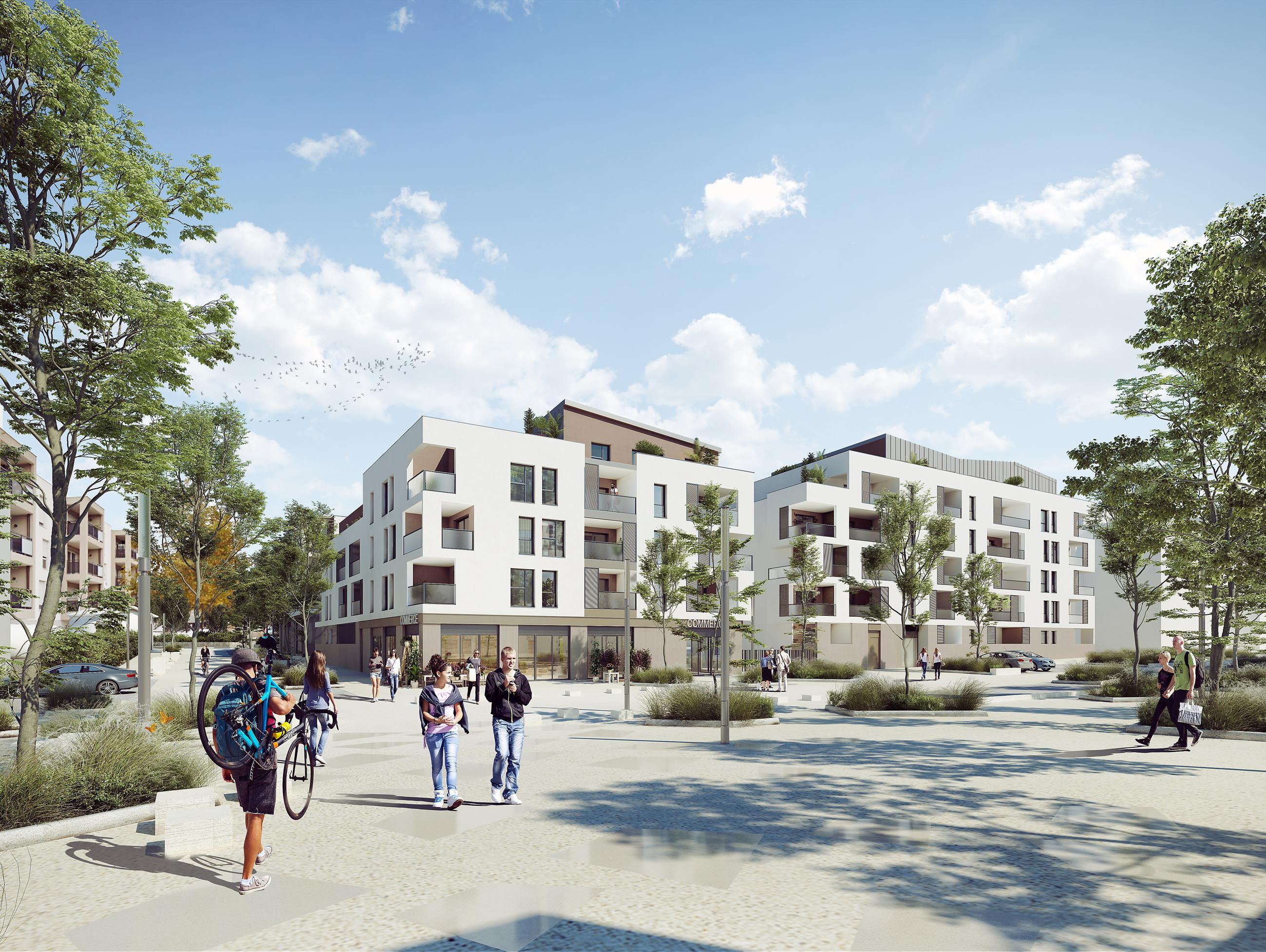 Programme immobilier Brignais (69530)  ICA7