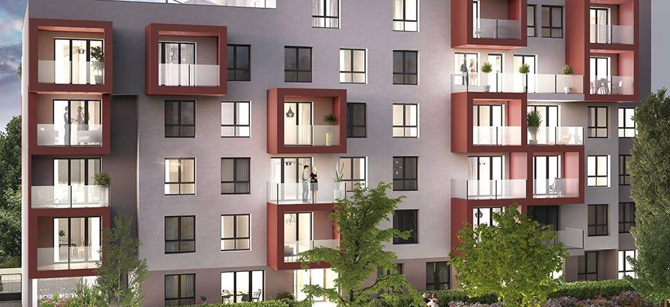 Programme immobilier Villeurbanne (69100)  ICA8