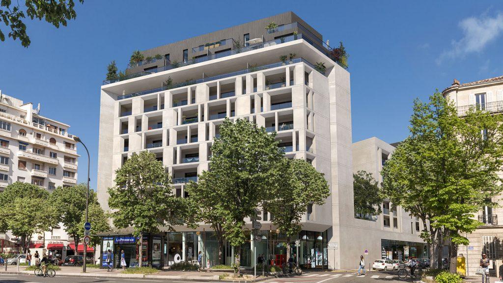 Programme immobilier LNC27 appartement à Marseille 8ème (13008) A 450 mètres du rond-point du Prado
