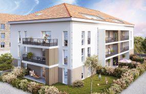Programme immobilier NP26 appartement à Bourgoin-Jallieu (38300) Résidence intimiste de caractère