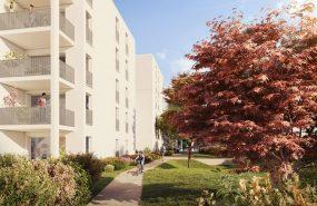 Programme immobilier NP27 appartement à Vaulx-en-Velin (69120) Un jardin en ville