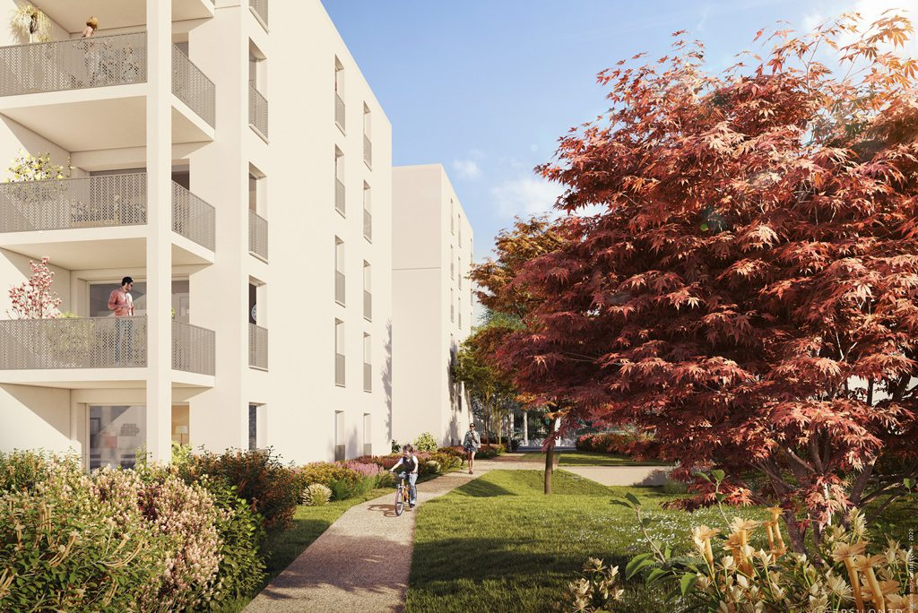 Programme immobilier Vaulx-en-Velin (69120) Un jardin en ville BOW5