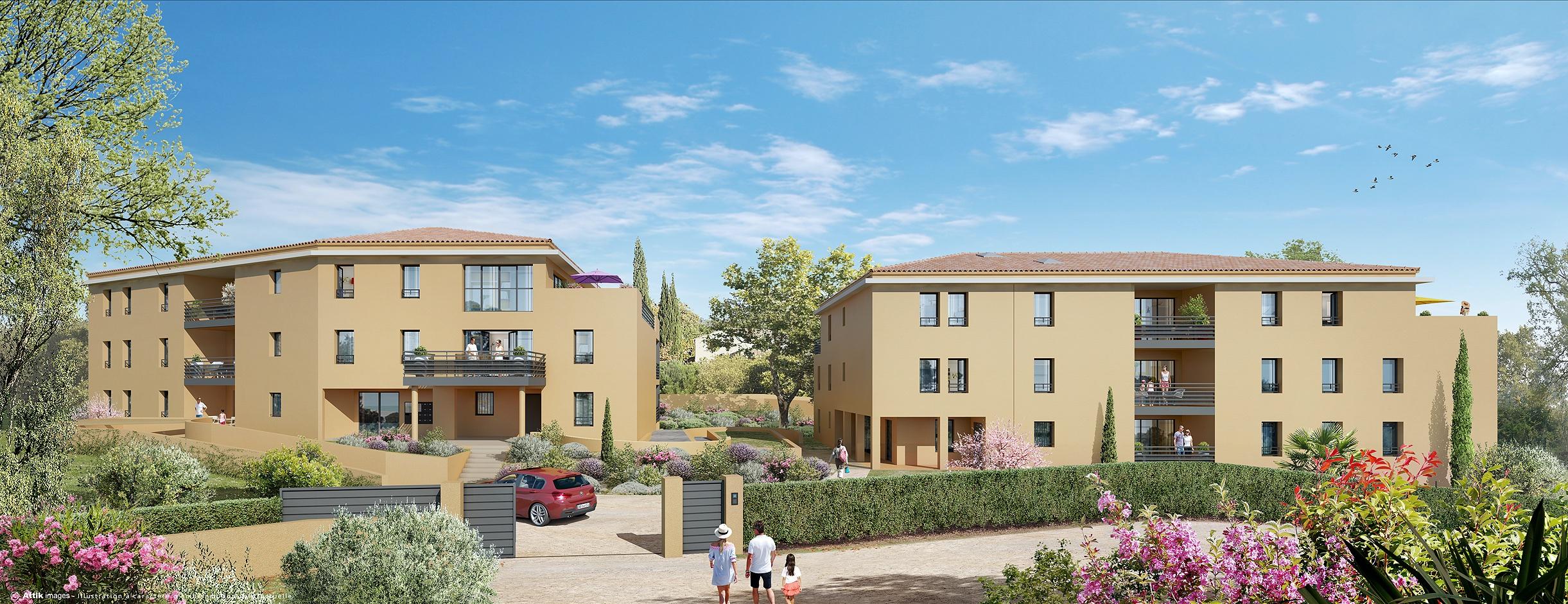 Programme immobilier Aix-En-Provence (13100) Quartier au calme KAB17