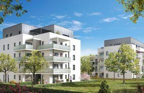 Programme immobilier AJA13 appartement à St Julien En Genevois (74160) Quartier vert et fleuri