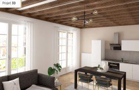 Programme immobilier NEO12 appartement à Villeurbanne (69100) Résidence paisible au sein d'un parc