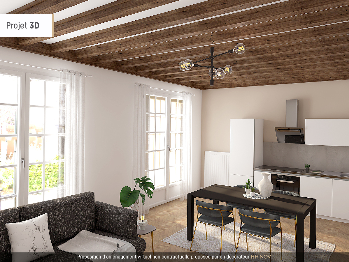 Programme immobilier Villeurbanne (69100) Résidence paisible au sein d'un parc KAB4