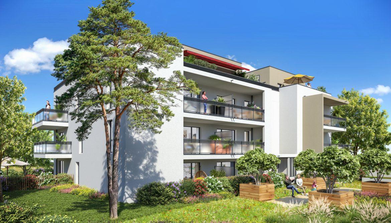 Programme immobilier Caluire (69300) Adresse à très fort potentiel économique EQ6