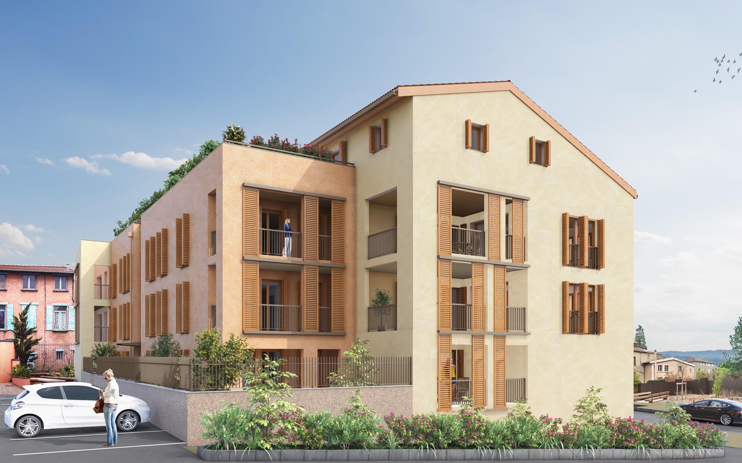 Programme immobilier AJA11 appartement à Albigny-sur-Saône (69250) En plein coeur d'Albigny-sur-Saône