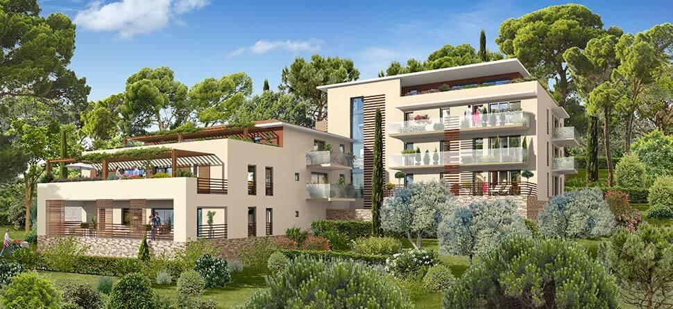 Programme immobilier Aix-En-Provence (13100) Quartier résidentiel de Beauregard URB21